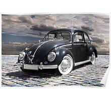 black old beetle Poster
