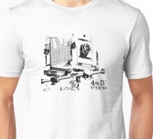 4x5 rail camera  Unisex T-Shirt