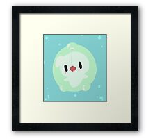 Bubbly Duosion! Framed Print