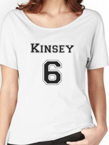 Kinsey6 - Black Women's Relaxed Fit T-Shirt