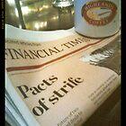 HIGHLANDS PINK PAPER by slazenger