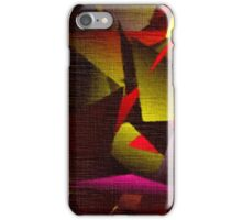 Large Fractals YLW iPhone Case/Skin