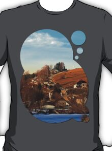 Road upon the river | landscape photography T-Shirt