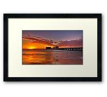"""""""Queenscliff Summer Dawn"""" Framed Print"""