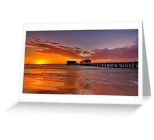 """Queenscliff Summer Dawn"" Greeting Card"