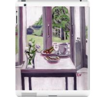 A cool morning scene iPad Case/Skin