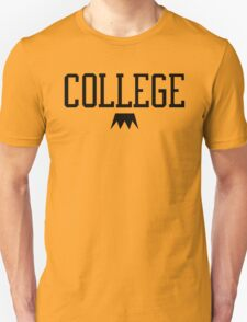 I Love College Unisex T-Shirt