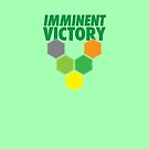 IMMINENT VICTORY with hexagons by jazzydevil
