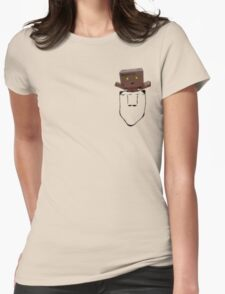 Danbo in my pocket Womens Fitted T-Shirt