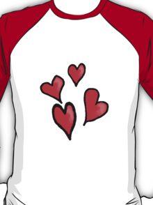 Heart Design T-Shirt T-Shirt