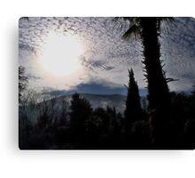 Clouds Over Crimea Canvas Print