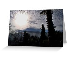 Clouds Over Crimea Greeting Card