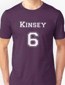 Kinsey6 - White Lettering T-Shirt