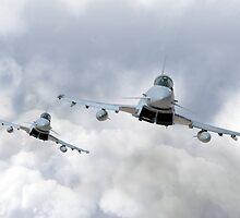 3 Squadron Typhoons  by J Biggadike