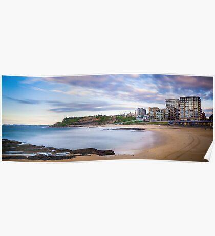 Newcastle Beach Sunrise Poster