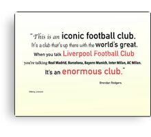 The Worl'ds Greatest Club Canvas Print