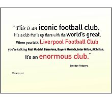 The Worl'ds Greatest Club Photographic Print