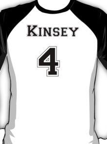 Kinsey4 - Black Lettering T-Shirt
