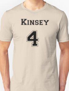 Kinsey4 - Black Lettering Unisex T-Shirt