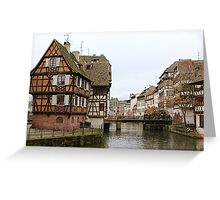 Petite-France Greeting Card