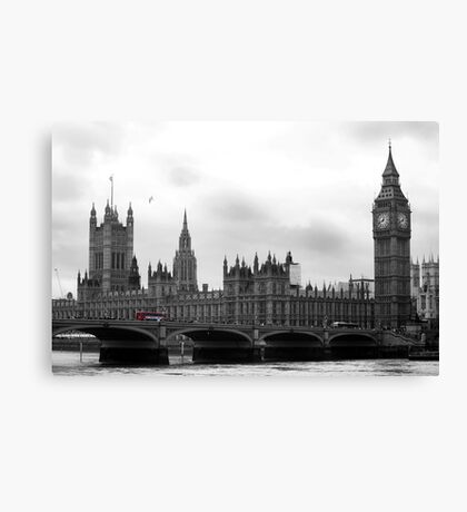 London calling... Canvas Print