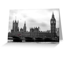 London calling... Greeting Card