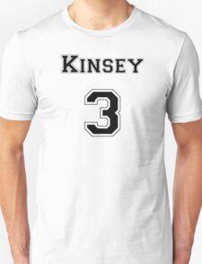 Kinsey3 - Black Lettering Unisex T-Shirt