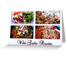 Wild Garlic Risotto Greeting Card