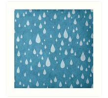 Raindrops or tears?  Art Print
