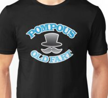 POMPOUS old FART with top hat Unisex T-Shirt