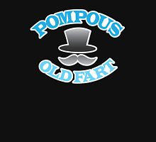 POMPOUS old FART with top hat Unisex T-Shirt
