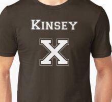 KinseyX - White Lettering Unisex T-Shirt