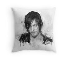 Twd Daryl Dixon Throw Pillow