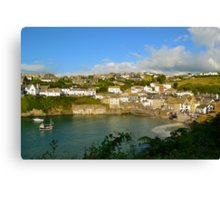 Port Isaac, Cornwall Canvas Print