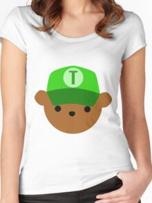 """ABC Bears - """"T Bear"""" Women's Fitted Scoop T-Shirt"""
