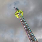 Power Tower at Winter Wonderland by Chris Day