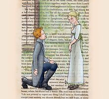 Pride and Prejudice - Jane And Mr Bingley by Purrr