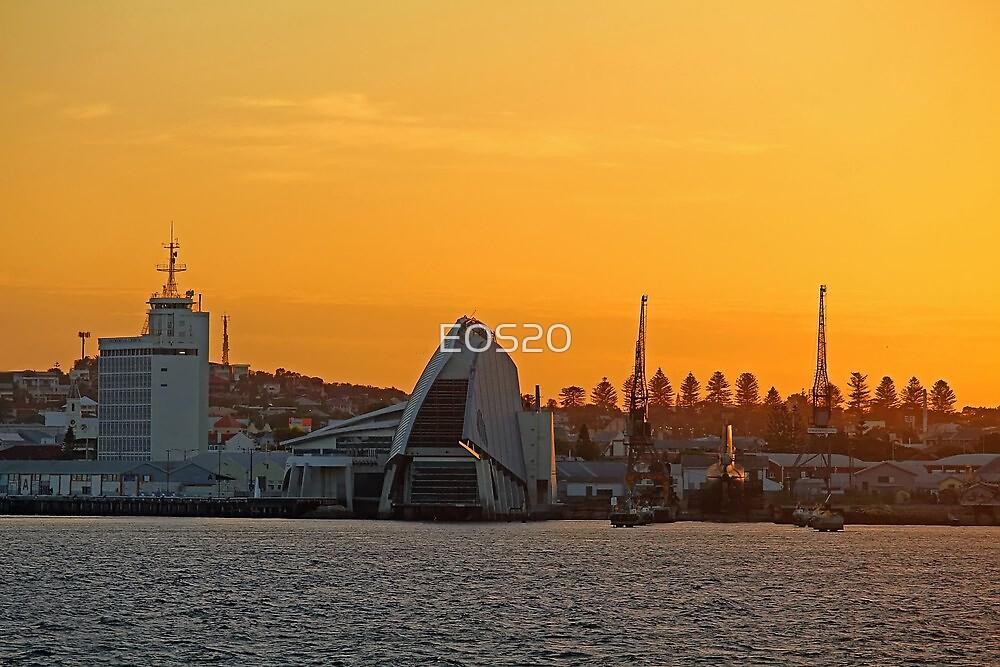 Fremantle Harbour Sunrise by EOS20