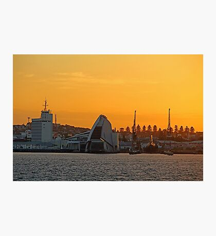 Fremantle Harbour Sunrise Photographic Print