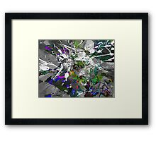 His Fate Is Sealed Framed Print