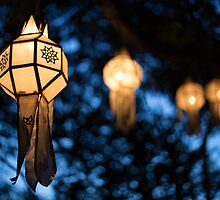 Lanterns and Bokeh by Daniel Nahabedian
