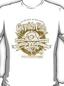 Cryptids Club (Light Shirt Version) T-Shirt