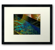 I Can't Get Next To You Babe Framed Print