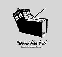 Murdered Tardis - (Reported missing next Tuesday) by Fifty-TwoWeeks