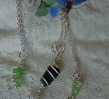 Scottish Seaglass pendants showcase- description explains by sarnia2