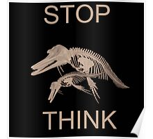 STOP THINK Poster