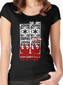 GALACTIC EMPIRE - wrong propaganda Women's Fitted Scoop T-Shirt