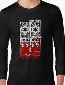 GALACTIC EMPIRE - wrong propaganda Long Sleeve T-Shirt