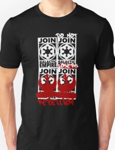 GALACTIC EMPIRE - wrong propaganda Unisex T-Shirt