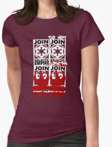 GALACTIC EMPIRE - wrong propaganda Womens Fitted T-Shirt